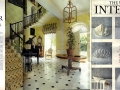 Our work is featured on this page in World of Interiors, January 1992